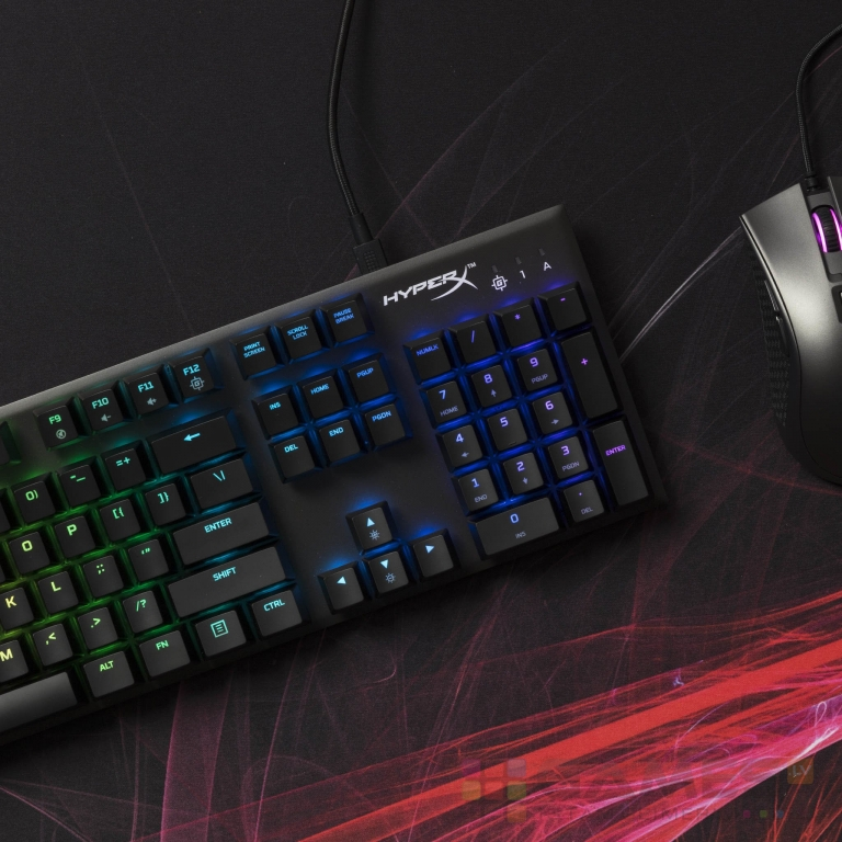 HyperX Alloy FPS RGB, Kailh Silver Speed, US