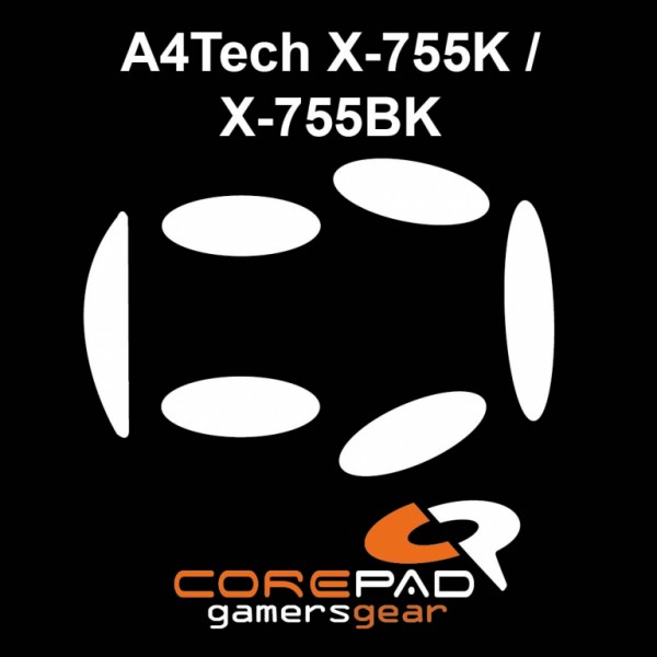 Corepad Skatez for A4Tech X-755K / X-755BK
