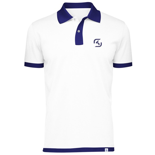 SK Gaming POLO White