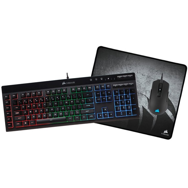 Corsair Bundle: K55 RGB + M55 RGB Pro + MM300 Medium