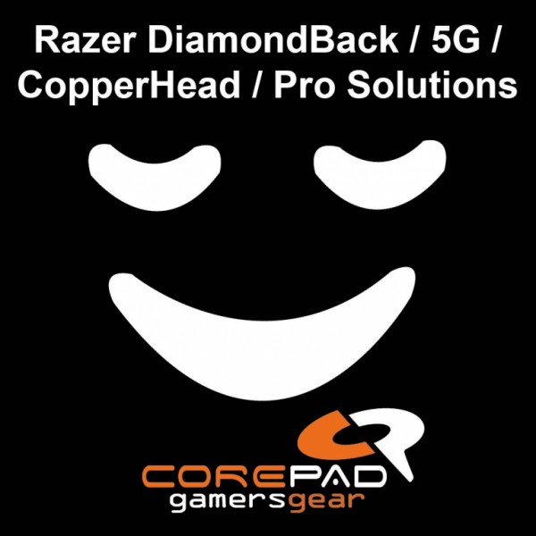 Corepad Skatez for Razer DiamondBack / 5G / CopperHead / Pro Solutions