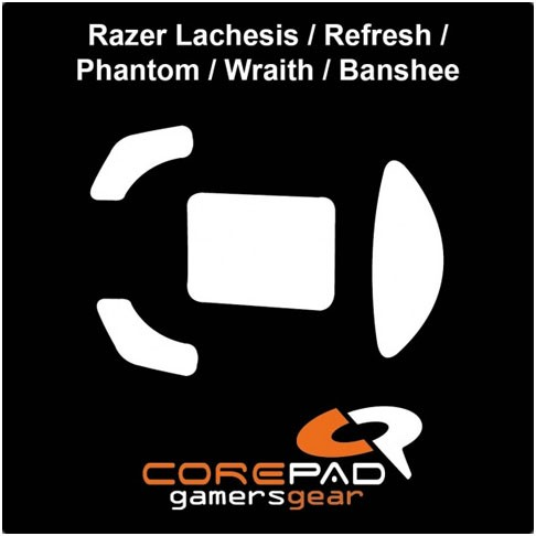 Corepad Skatez for Razer Lachesis / Refresh / Phantom / Wraith / Banshee