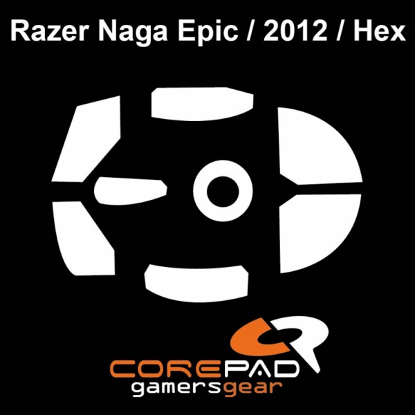 Corepad Skatez for Razer Naga Epic / 2012 / Hex