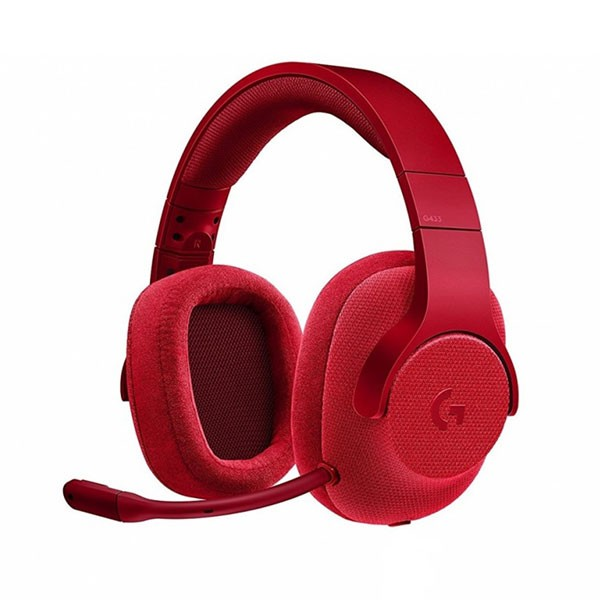 Logitech G433 Fire Red 7.1